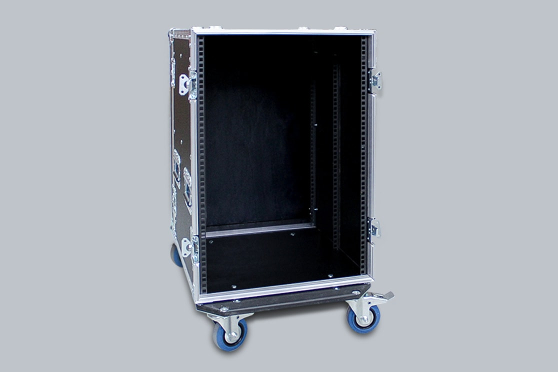 Flight case per rack su misura