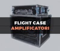 Custodia flight case per amplificatore