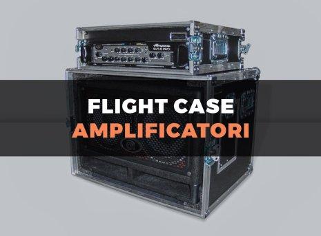 Custodia flight case per amplificatore