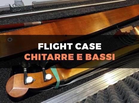 Custodia flight case per basso elettrico