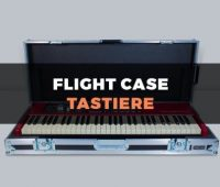 Custodia flight case per tastiere