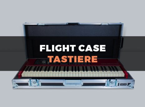 Custodia flight case per tastiere