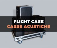 Custodia flight case per casse acustiche
