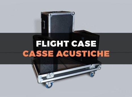 Custodia flight case per casse acustiche