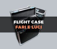 Custodia flight case per fari e lampade