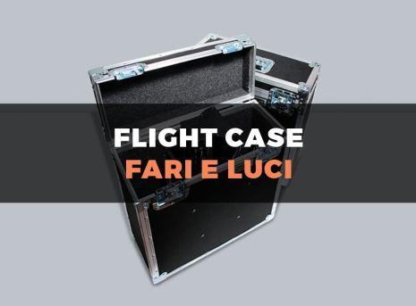Custodia flight case per fari e lampade