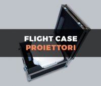 Custodia flight case per proiettori