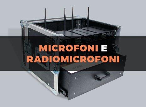 Travel Case custodia per microfoni e radiomicrofoni