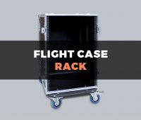 Mobile flight case rack