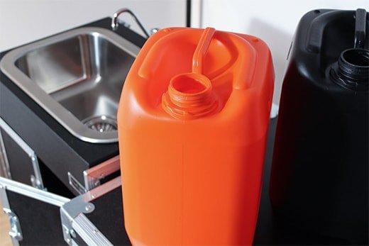 Taniche acqua ricaricabili per lavandino portatile