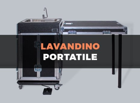 Travel Case lavandino portatile