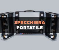 Travel Case specchiera portatile