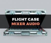 Travel Case mixer audio