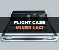 Travel Case mixer luci