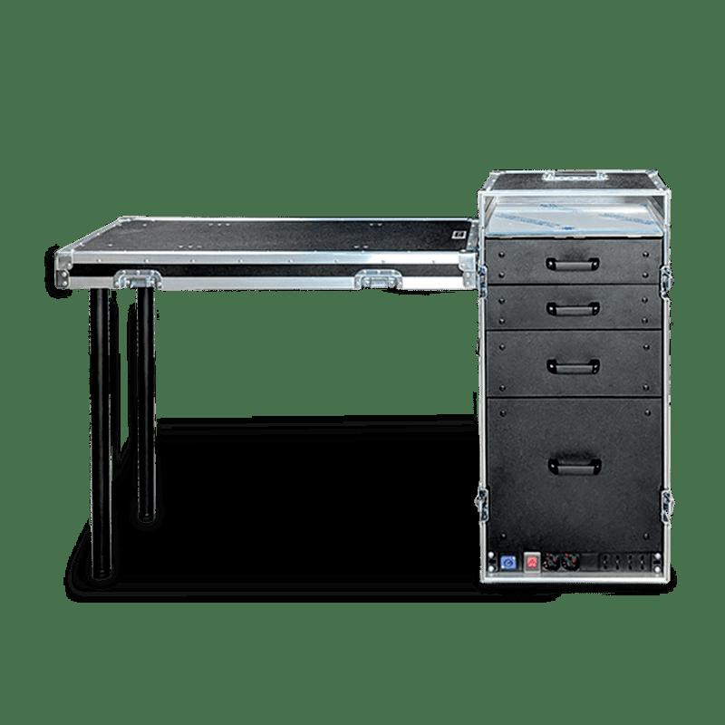 Personalizzazione workstation mini x con piano acciaio