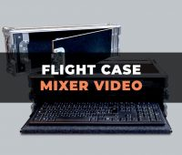 Flight case per mixer video