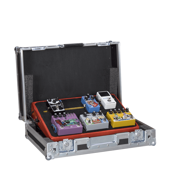 Flight case per pedaliera custom estraibile