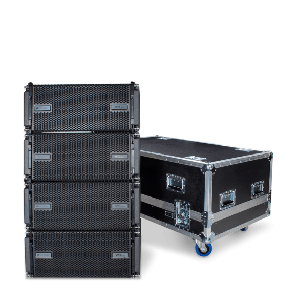 Flight case per sistema line array DB Technologies VIO L208