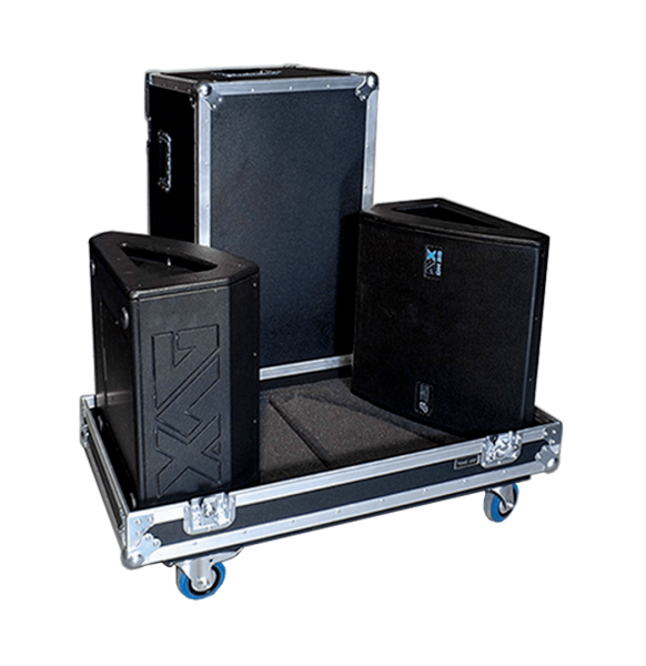 Flight case per 4 moduli DB Technologies DVX DM28