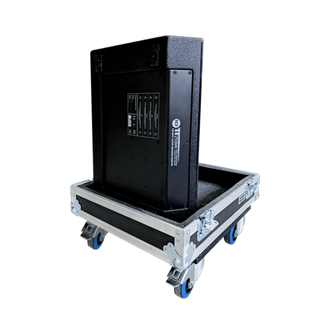 Flight case per impianto RCF TT 25SMA