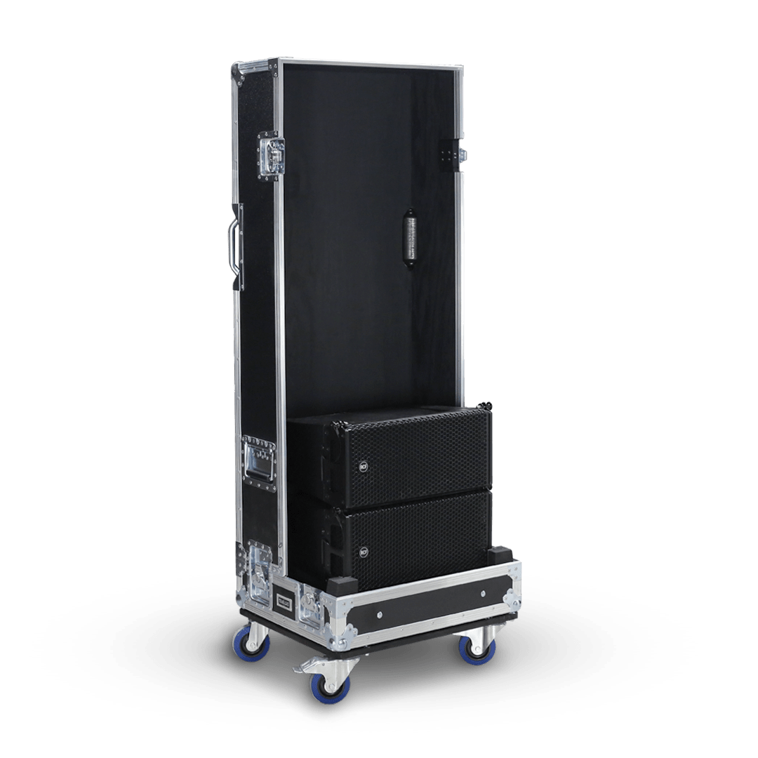 Flight case per impianto line array RCF