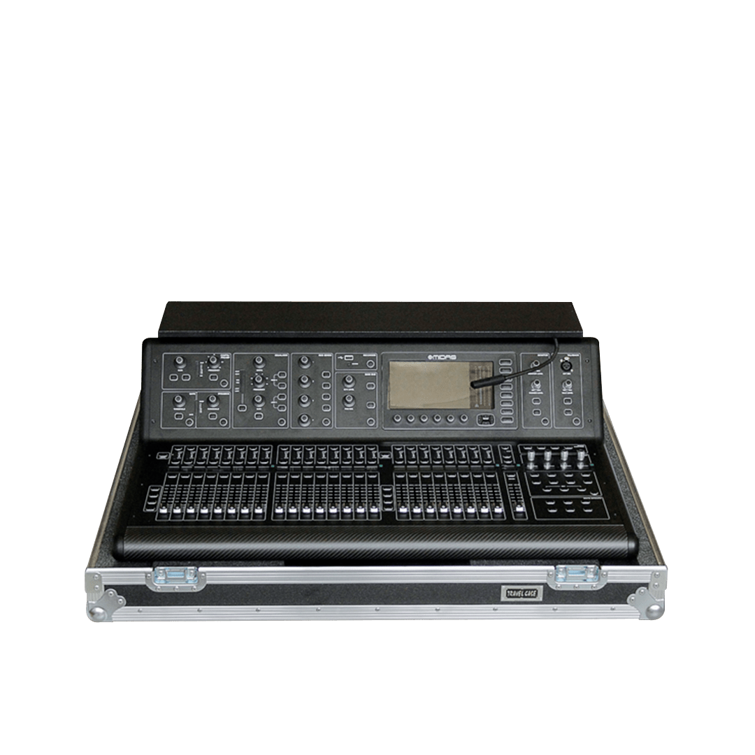 Flight case per mixer MIDAS M32