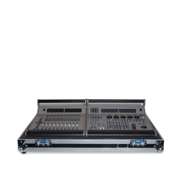 Flight case per mixer luci