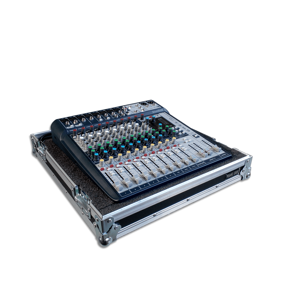 Flihgt case per mixer Soundcraft Signature 12