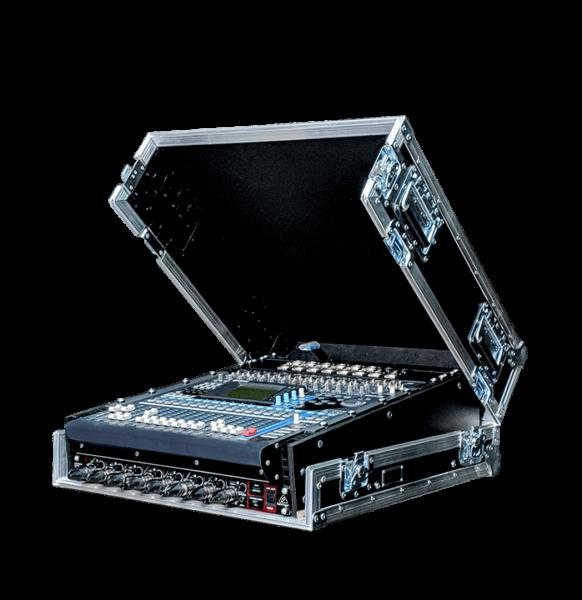 Flight case con coperchio per mixer Yamaha OIV96