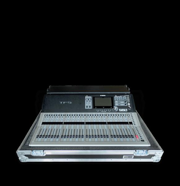 Flight case per mixer Yamaha TF5