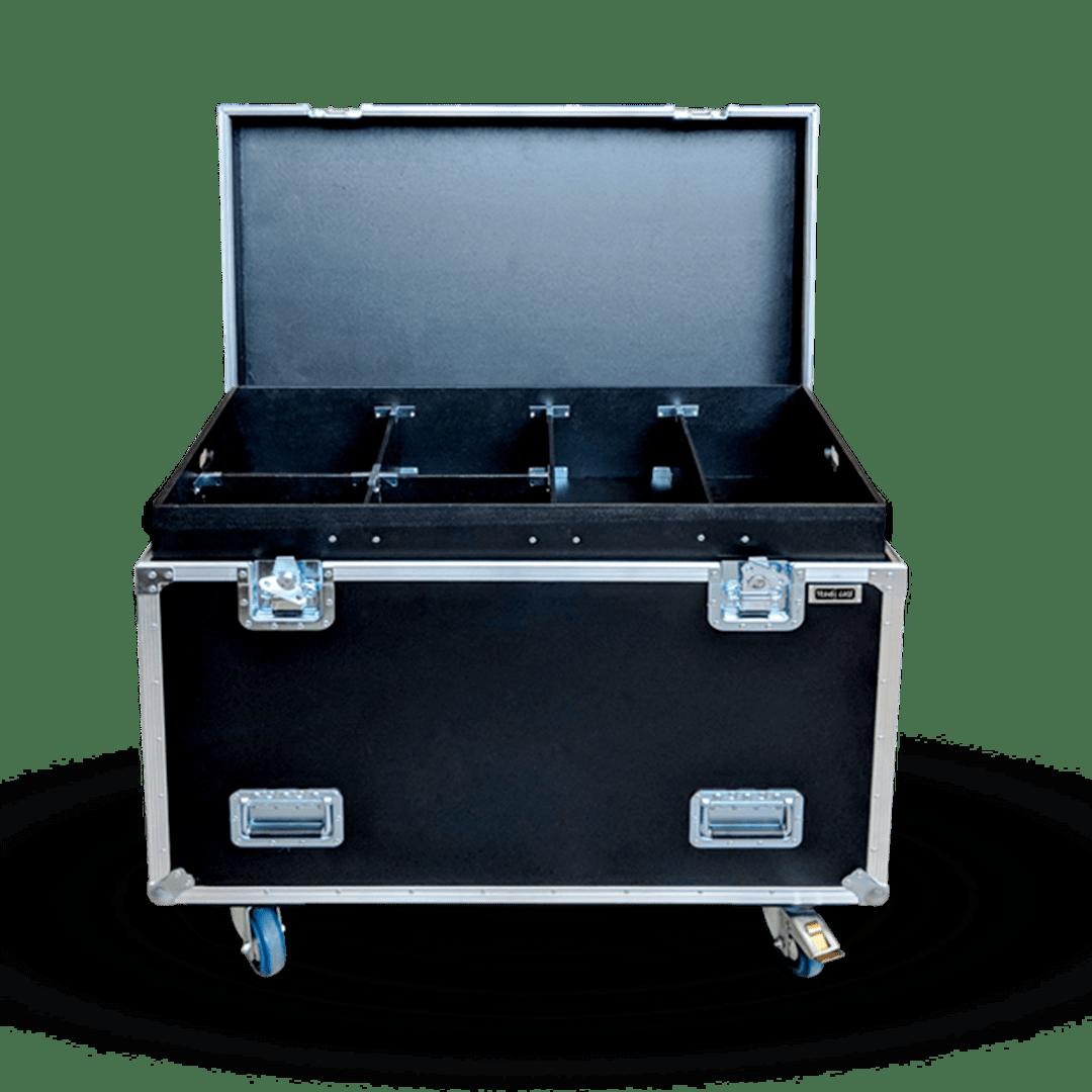 Flight case per trasporto attrezzatura professionale