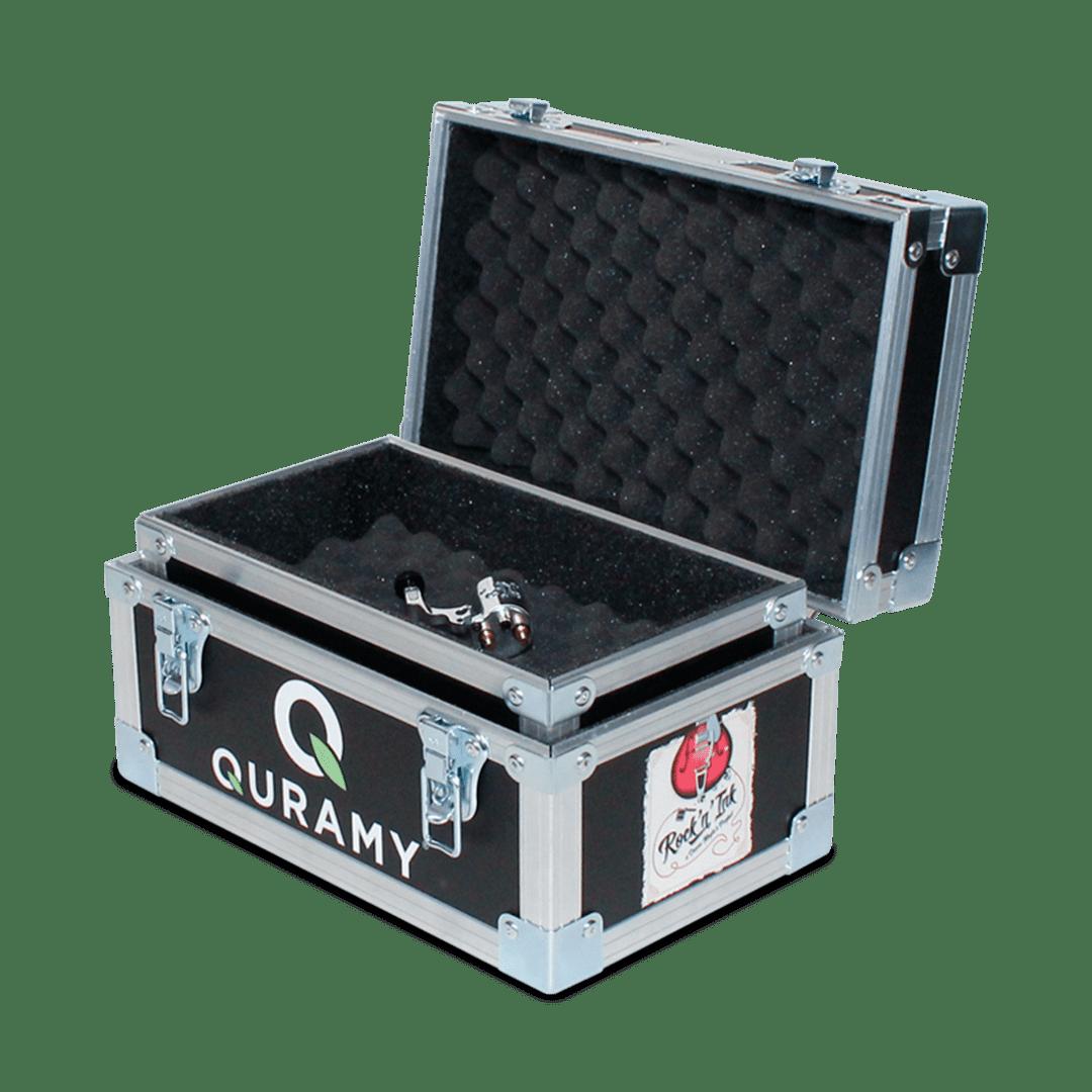 Flight case per trasporto attrezzatura tattoo con stampa personalizzata