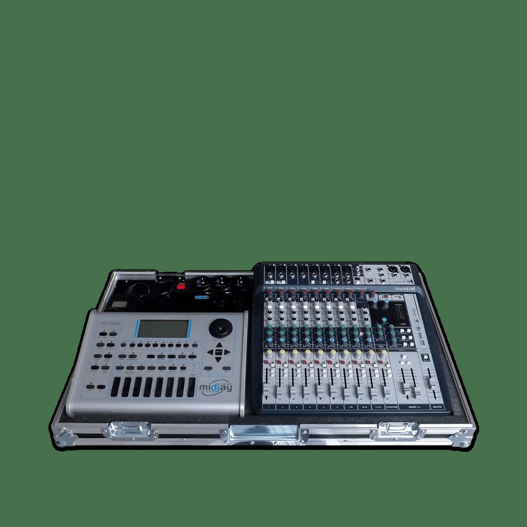 Workstation con mixer e Ketron Midj