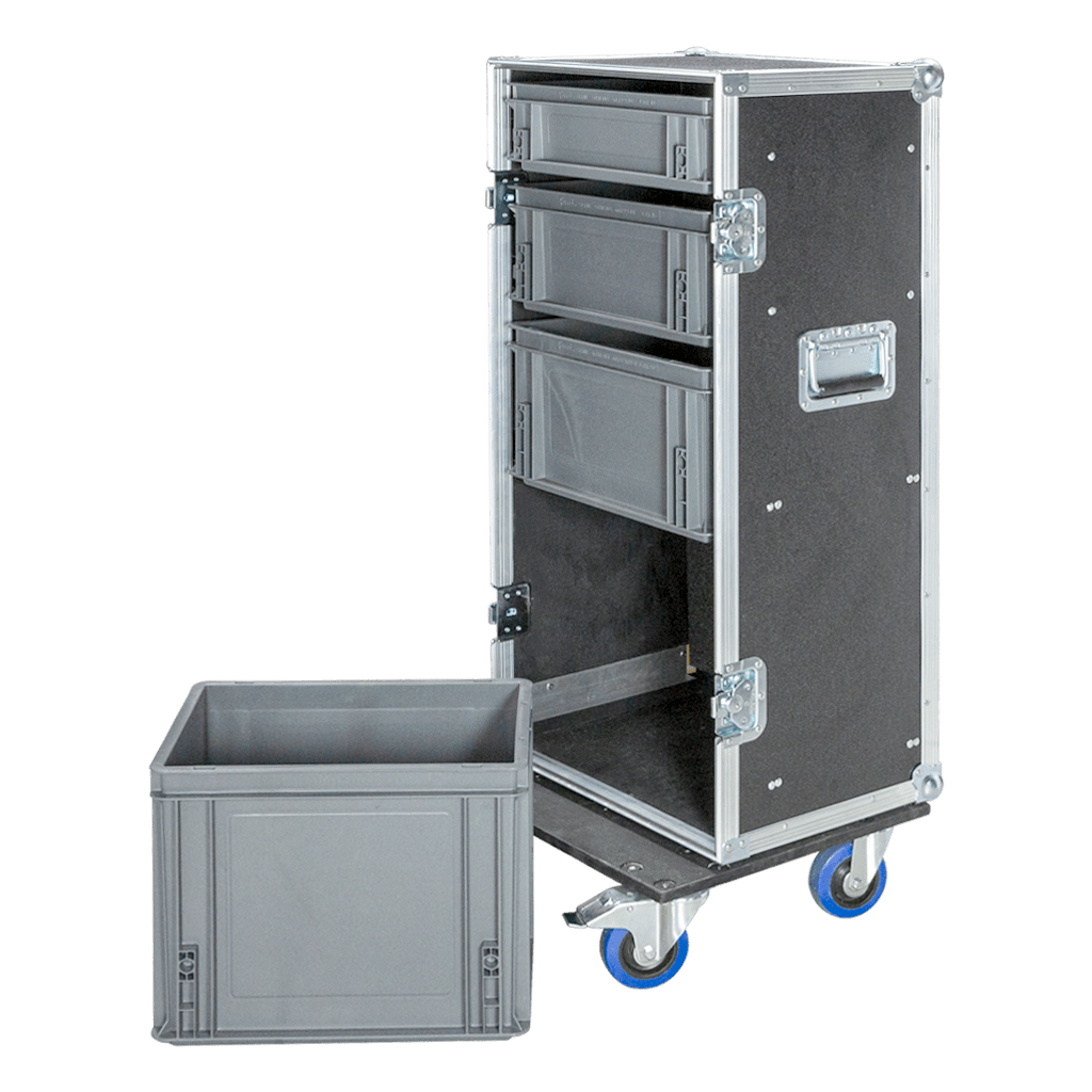 Work case con cassetti a estrazione totale