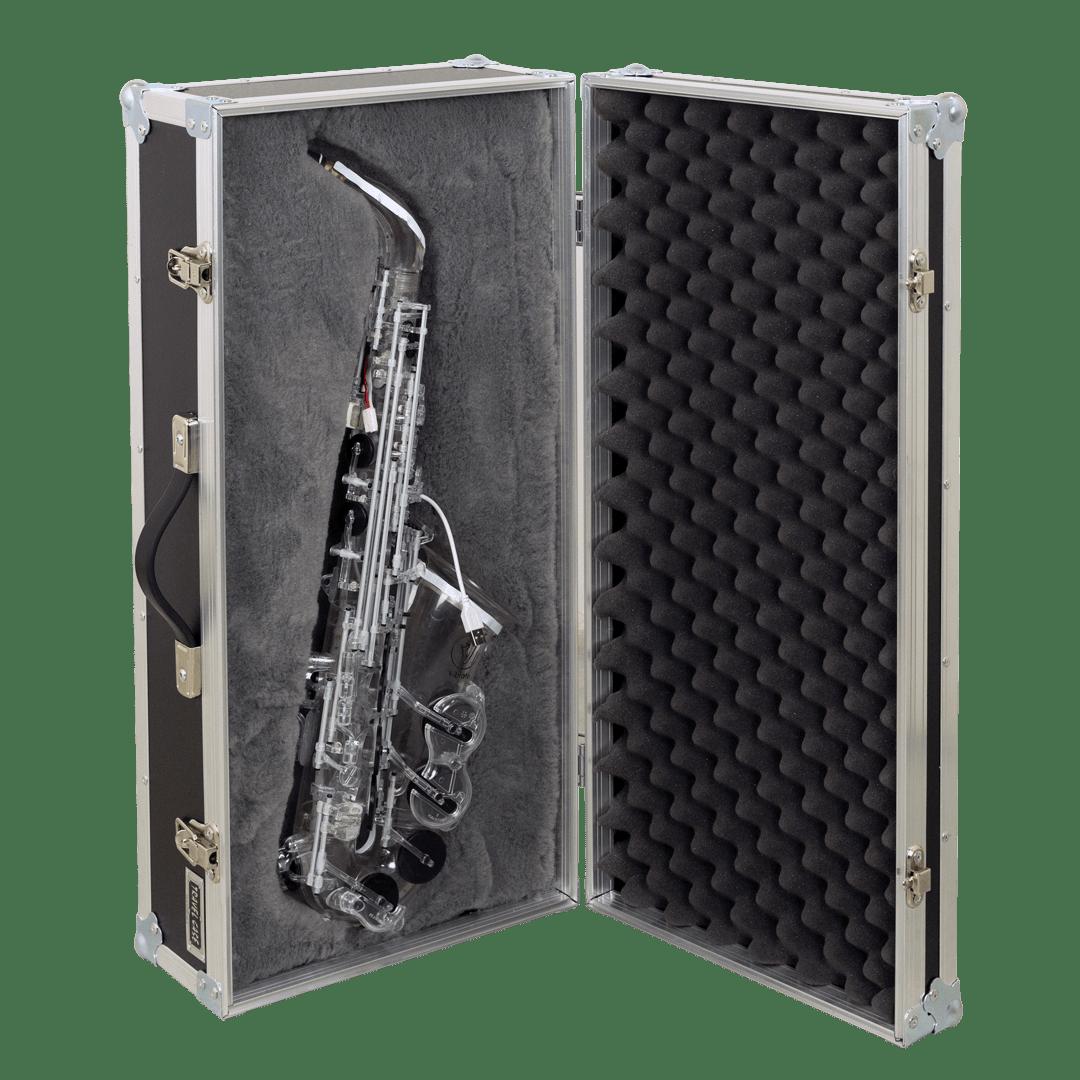 Flight case per sassofono